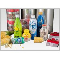 Buy cheap 100 Biodegradable Plastic Film Corn Based Lactic Acid Polymers For Shrink Labels from wholesalers