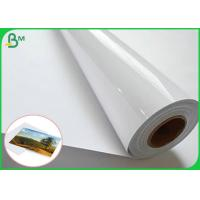 Buy cheap 3 inch of core satin and high glossy RC photo paper for pigment  ink from wholesalers