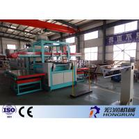 Ps Foam Food Box Making Machine , Thermo Vacuum Forming Machine High Capacity