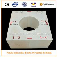 Buy cheap Glass Factory Fused Cast AZS Refractory Zirconia Block from wholesalers