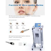 Buy cheap 2018 high quality CE approved acne treatment skin rejuvenation machine RF micro needle from wholesalers
