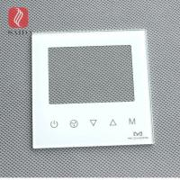 Buy cheap OEM Indian Z Wave Wifi Light Smart Touch Screen Switch Crystal Cover Glass Panel For Switch from wholesalers