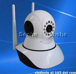 China Dual antenna IP Camera P2P wifi burglar alarm monitoring HD Onvif 2.0 protocol on sale