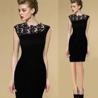 Buy cheap New Sexy Casual Lace Sleeveless Party Evening Cocktail Short Fashion Women Dress from wholesalers