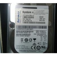 Buy cheap IBM 00AJ121 00AJ122 500G SAS Hard Drive 6GB 2.5 7.2K X3850X6 X3950 M5 from wholesalers