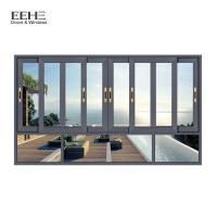 Buy cheap Powder Coated Aluminum Sliding Glass Windows For Construction Buildings from wholesalers