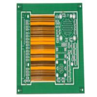 Buy cheap 6  layers FT4 PI material 1.2mm Board thickness HASL Lead free Rigid-flex  PCB and PCB assembly from wholesalers