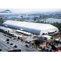 Buy cheap Movable PVC Aluminum Expo TFS Curved Tent 40m Clear Span for Large Outdoor Promotion from wholesalers