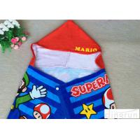 Buy cheap Plain Style Poncho Swimming Towels , Childrens Hooded Beach Towels Various Size from wholesalers