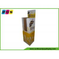 Buy cheap POP Bread Corrugated Dump Bin Display Flat Packed With Bottom Storage Box DB020 from wholesalers