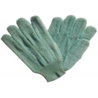 Buy cheap Dark Color Heat Resistant Gloves Customized Logo Printed For Glass Industry from wholesalers