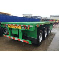 Buy cheap multi axel trailer 40 tons capacity 20 foot flatbed trailer for sale  - CIMC VEHICLE from wholesalers