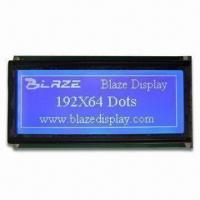 Buy cheap 192 x 64 Dots LCD Display Module with S6B0107/08 Controller Driver IC (STN, FSTN Mode) and COB from wholesalers