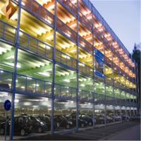Buy cheap Multi Layer Steel Frame Car Service Building Commercial Steel Buildings from wholesalers