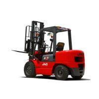 Buy cheap 3 Ton JAC Diesel Forklift Truck Lift Height 3M - 6M Isuzu Engine Red Color product