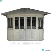 Buy cheap Solid Pine Wood Outdoor Wooden Gazebo 4270*3260*3900 Mm PU Coated Sail Finishing from wholesalers