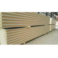 Buy cheap Heat Insulation Cold Room Insulation Panels Plug In Type / Hook Type PU Sandwich Panel from wholesalers