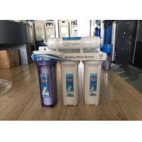 Buy cheap 4 Stage 50 GPD Non - Electrical Household Water Filter Filtration Drinking Water System from wholesalers