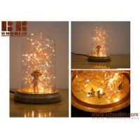 Buy cheap Wholesale Copper Wire LED String Light Glass Christmas Decoration Table Lamp from wholesalers