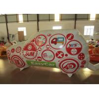 Buy cheap Standing Inflatable Advertising Signs Car For Advertising Commercial Inflatable decoration wall for sale from wholesalers