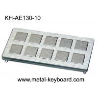 Buy cheap 10 keys Custom Industrial Metal Keyboard Industrial Kiosk Keyboard product