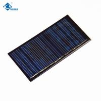 Buy cheap 0.5W 6V EPOXY Silicon Solar PV Module 17%-19% Optimized Cell Efficiency ZW-88545 Mini Solar Panel from wholesalers