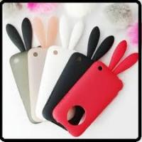 Buy cheap Best apple Rabito iPhone 4G cell phone TPU silicone case with rabbit tail  from wholesalers