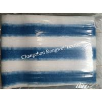 Buy cheap Royal Blue And White Balcony Safety Netting Custom Apartment Balcony Privacy Screen from wholesalers