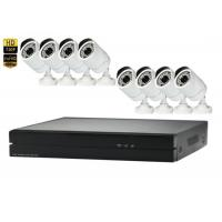 Buy cheap Wall Mount 8 Channel NVR Kit 1080p 2MP 8 Ip Camera Security System from wholesalers