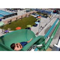 Buy cheap Safe Big Water Slides / Swimming Pool Tube Slides For Water Playground Equipment from wholesalers