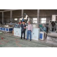 Buy cheap Conical Twin Screw Plastic Profile Extrusion Line , WPC Extrusion Machine from wholesalers