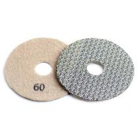 Buy cheap 4 Inch 100mm Concrete Polishing Pads 4pcs / Set Fast Removal Tile Glass Stone Sanding Disk from wholesalers
