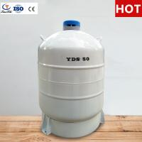Buy cheap TianChi Liquid nitrogen biological container YDS-50 Five years vacuum quality assurance from wholesalers