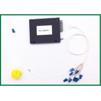 Buy cheap PLC fiber optic coupler splitter 1x8 1x16 1x32 optical splitter Plastic Box with G657A from wholesalers