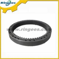 Buy cheap Kato HD900-7 excavator travel reduction ring gear, final drive gear ring travel motor gear from wholesalers