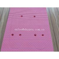 Buy cheap Pink Custom Printing EVA Foam Sheet in Poly Bag Beach Closed Cell Molded EVA Flip Flops Sheet Sole from wholesalers