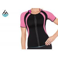 Buy cheap Black Pink Fitness Neoprene Weight Loss Sauna Suit Absorbs Sweat Custom Size from wholesalers