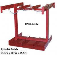 Buy cheap Steel Compressed Gas Cylinder Stands , Gas Tank Storage Rack 7 To 9.5 Diameter from wholesalers