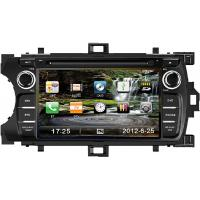 Buy cheap 7 Inch Digital Toyota DVD GPS Car Radio , Fully Touch Screen Car DVD Player TYT-7848GD from wholesalers
