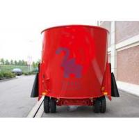 Buy cheap Mobile Big Volume TMR Feed Mixer Machinery For Pig Feed Upright Type from wholesalers