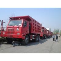 Buy cheap 100 Tons Sinotruk HOWO 420hp Mining Dump Truck with high strength steel cargo body from wholesalers