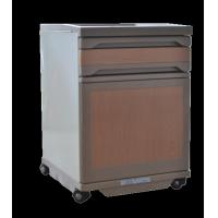 Buy cheap Multicolor Medical Hospital Bedside Table On Wheels 500x510x700mm from wholesalers