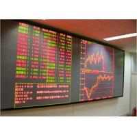Buy cheap P3 Indoor Fixed Installation LED Video Walls HD LED Display for Stock Exchange from wholesalers