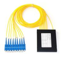 Buy cheap ABS Box Type Fiber Optic PLC Splitter 1x8 2.0mm Sc/Upc Connector Compact Design from wholesalers