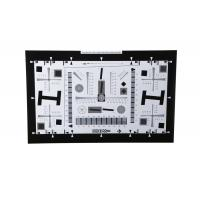 Buy cheap 8X Enhanced ISO12233 high resolution test chart iso test chart camera test charts for 21 Megapixel camera 4000 lines from wholesalers