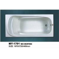 Buy cheap Acrylic Plain Bathtubs (MY-1701) from wholesalers