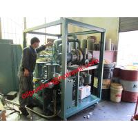 Buy cheap Plate Frame Transformer Oil Filter Plant , Double Stage Vacuum Insulating Oil Purifier Machine from wholesalers