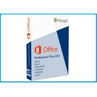 Buy cheap Genuine Computer Software System Office 2013 Professional 32 / 64 Bit For 1 PC from wholesalers