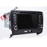 Buy cheap Wince MTK 3360 Audi Tt Dvd Player , Double Din Touchscreen Head Unit Support from wholesalers