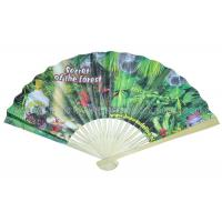 Buy cheap Bamboo Paper Fans For Promotion , Gifts from Wholesalers